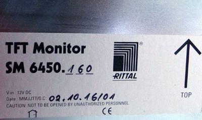 "RITTAL TFT Monitor 17"" SM 6450.160  Typ: BCM17E01-R RGB/DVI – Bild 2"