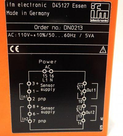 ifm ecomat200 DN0213 Schaltverstärker – Bild 2