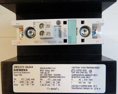 Siemens Sirius 3RF2370-3AA04  3RF2 370-3AA04  E-Stand: 04  - OVP - – Bild 3