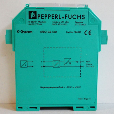 PEPPERL + FUCHS K-System KFD0-CS-1.50 Nr. 126991 -unused/OVP- – Bild 3