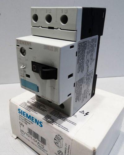 Siemens Sirius 3RV1011-0AA10 3RV1 011-0AA10 E: 01 Leistungsschalter -unused/OVP- – Bild 1