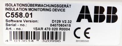 ABB C558.01 Isolationsüberwachungsgerät – Bild 3