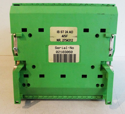 Phoenix Contact IB ST 24 AO 4/SF 2754312 + 2754354 -used- – Bild 3