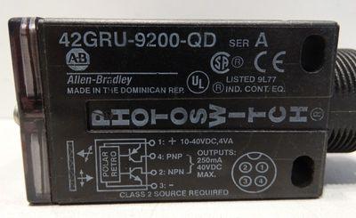Allen-Bradley 42GRU-9200-QD Serie: A Photo Switch -used- – Bild 2