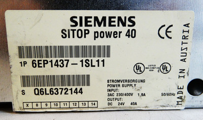 Siemens Sitop power40 6EP1437-1SL11 E: 07 -used- – Bild 2