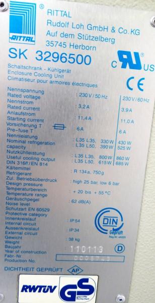 Rittal Dachaufbau-Kühlgerät 329500 – Bild 2