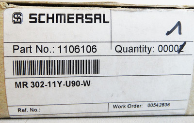 Schmersal MR 302-11y-w-U90 Part-No. 1106106 -used/OVP- – Bild 2