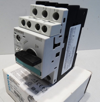Siemens Sirius 3RV1421-1BA15 3RV1 421-1BA15 E: 05 - unused - in OVP – Bild 1