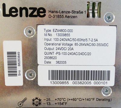 Lenze Spannungsversorgung 24V EZV4800-000 – Bild 2