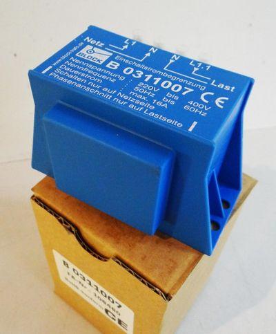 Block-Trafo B0311007 FA-Nr.: 106460 Einschaltstrombegrenzung -Neu/OVP- – Bild 1