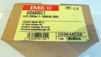 IME DG4G06C1 AC-Digitalanzeige 5A/500V -unused/OVP- – Bild 1