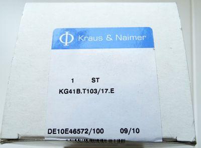 Kraus & Naimer Hauptschalter KG41B.T103/17.E -unused/OVP- – Bild 2