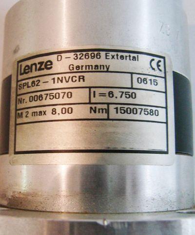 Lenze Servo SPL62-1GVCR-047N22 + SPL62-1NVCR Getriebemotor – Bild 4