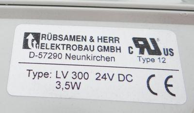 Rübsamen & Herr LV 300 Lüfterfilter 24VDC 3,5W Typ 12 -unused- – Bild 2