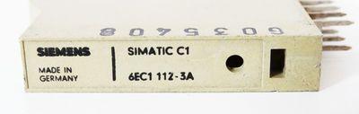 Siemens Simatic C1 6EC1112-3A 6EC1 112-3A -used- – Bild 2