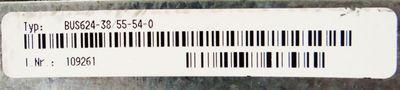 Baumüller BUS624-38/55-54-0-000 zzgl. BUS6-VC-AE-0047 Leistungs-/Regeleinheit -used- – Bild 2