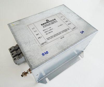 Baumüller BFN 3-1-56  BFN3-1-56 Netzfilter -used-