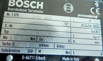 BOSCH Servomotor SE-B5.700.030-10-012-gebr.-  SEB570003010012-gebr.- – Bild 3