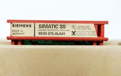 Siemens S5 115U-CPU 6ES5 942-7UB11 E:4 + Eprom 6ES5375-0LA41 E:1 -used - – Bild 2