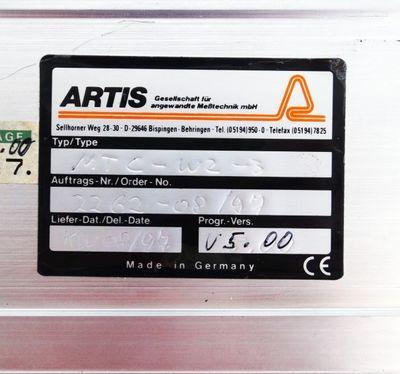 Artis MTC-W2-3 V5.00 Prozessüberwachungsmodul gebraucht / used – Bild 2