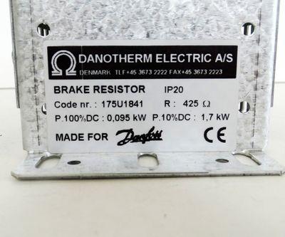 Danfoss / Danotherm 175U1841 Bremswiderstand IP20 425Ohm 1,7 kW -unused/OVP- – Bild 3
