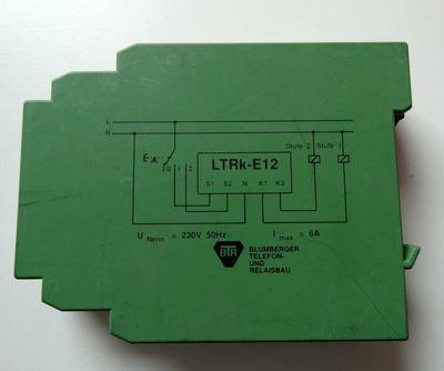 BTR Lüftertimer-Relais  1,5-30 / 3 -60sec 230VAC benutzt used – Bild 1