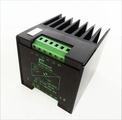 Murrlektronik 3-Phasen-Halbleiter Wenderelais 50520 24VDC,20 mA 400 VAC,8A – Bild 1