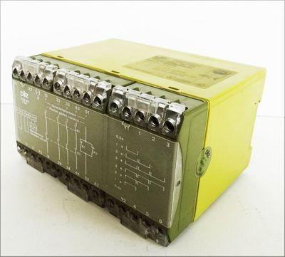 Pilz PZE 5V 3sec 4S/ 1Ö 474958 Sicherheitsrelais -gebraucht- – Bild 1