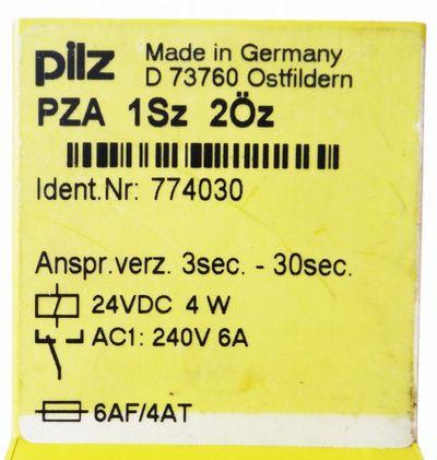 Pilz PZA 1Sz 2Öz Id.No. 774030 -used- – Bild 2