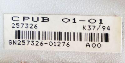Indramat CPUB 01-01 257326 A00 ohne Schlüssel -used- – Bild 3