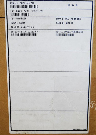 CISCO 876-K9 CISCO876-K9 Router -sealed- – Bild 3