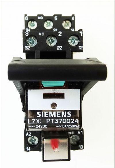 Siemens Steckrelais LZS: PT3A5L24  LZS:PT3A5L24 E-Stand:02 VE=5 Stk. -unused/OVP – Bild 2