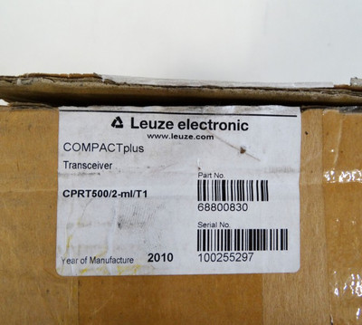 LEUZE lumiflex Transceiver CPRT500/2-ml/T1  Part.Nr.:68800830   - used - – Bild 2