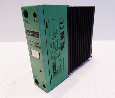 Phoenix Contact ELR 1/25-240 2964694 Electronic load Relay -used- – Bild 1