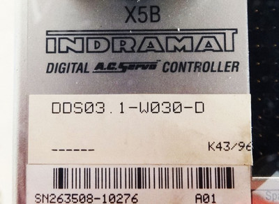 Indramat DDS03.1-W030-D Digital A.C.-Servo-Controller incl. DSS 1.3 - used - – Bild 2
