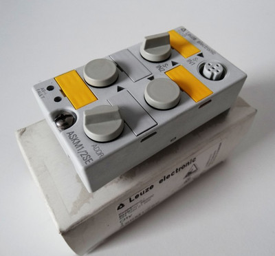 Leuze ASKM 1/2SE ASKM1/2SE Art.-Nr. 580000 Koppelmodul -unbenutzt/OVP- – Bild 1
