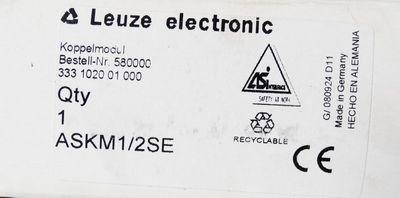 Leuze ASKM 1/2SE ASKM1/2SE Art.-Nr. 580000 Koppelmodul -unbenutzt/OVP- – Bild 2