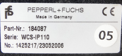 Pepperl + Fuchs WCS-IP110 Part.-Nr. 184087 Interfacemodul -used- – Bild 3