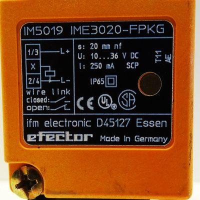 IFM IM5019 IME3020-FPKG Inductive Sensor -used- – Bild 3