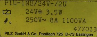 Pilz P1U-1NB/24V-/2U ID Nr. 477013 -used- – Bild 3