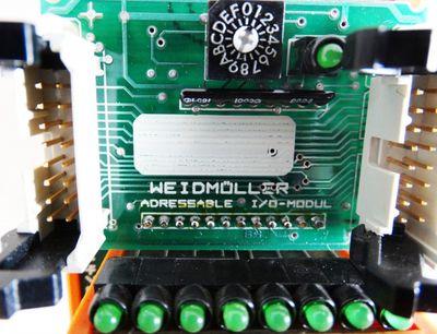 Weidmüller Adressable I/O-Modul  MM1-I 24  - used - – Bild 2