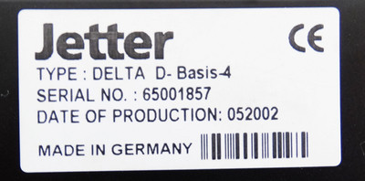 Jetter Delta D-Basis-4 -used- – Bild 2