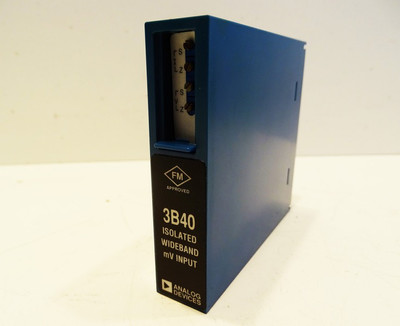 Analog Devices 3B40-00 Type: ISO WB mV Input Module -unused- – Bild 1