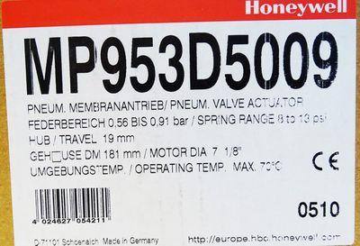 HONEYWELL MP953D5009 Pneumatik Membranantrieb -unused/OVP- – Bild 3