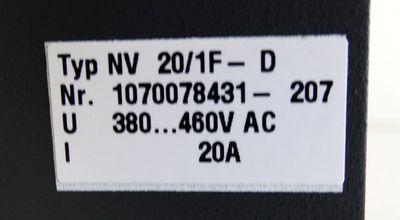 Bosch NV 20/1F-D NV20/1F-D 1070078431-207 -used- – Bild 2