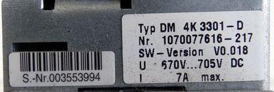 Bosch DM 4K 3301-D DM4K3301-D 1070077616-217 -used- – Bild 2
