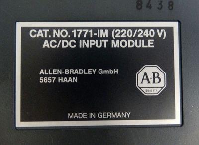 Allen-Bradley 1771-IM  Input-Module  636046-90  - used - – Bild 2