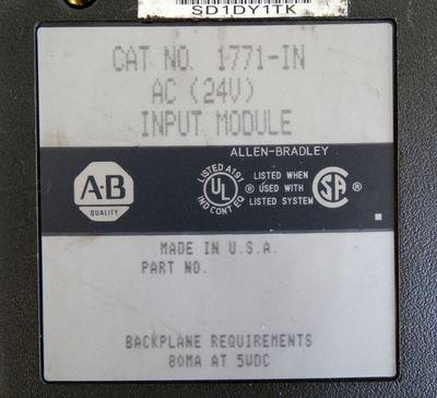 Allen-Bradley 1771-IN AC 24V Input-Module  - used - – Bild 2