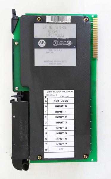 Allen-Bradley 1771-IN AC 24V Input-Module  - used - – Bild 3