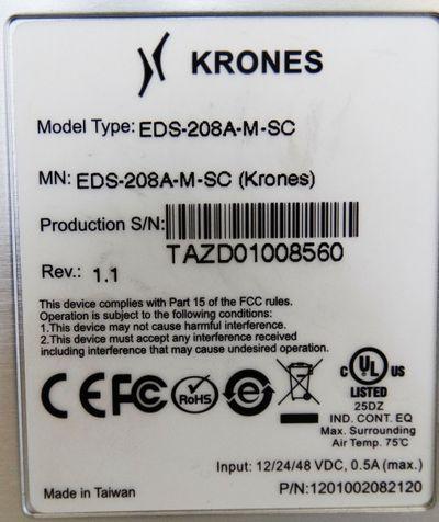 KRONES EDS-208A-M-SC Switch Rev.: 1.1 -used- – Bild 3
